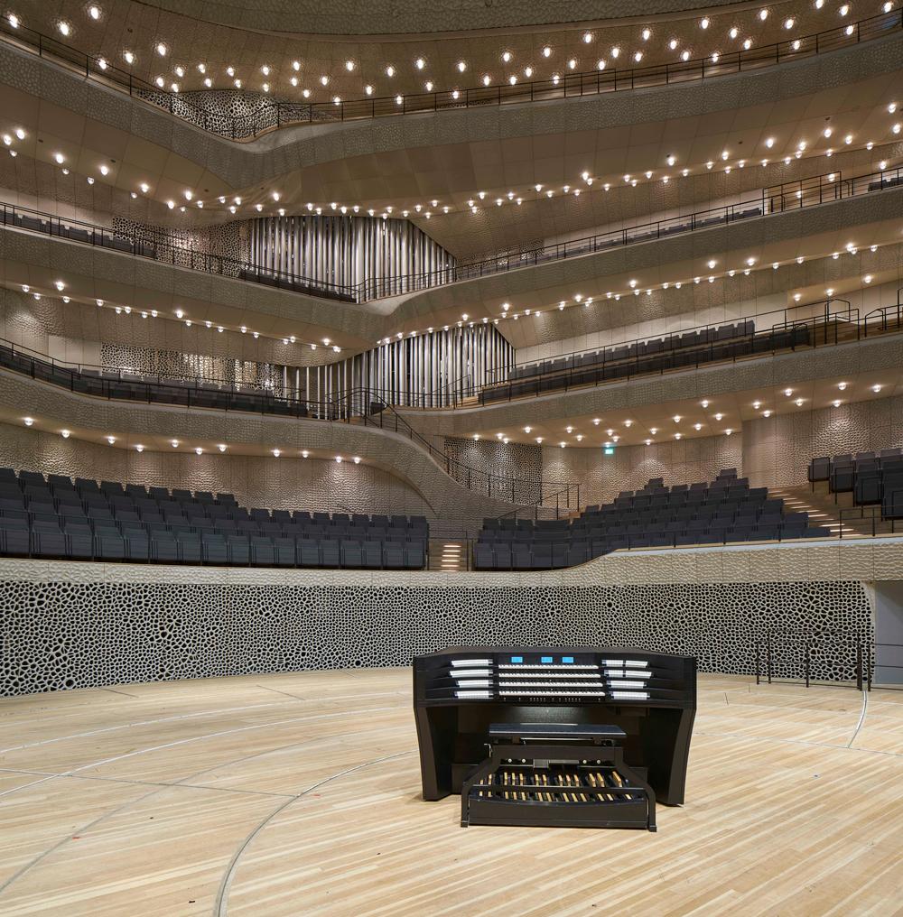Orgel Elbphilharmonie Pfeifen